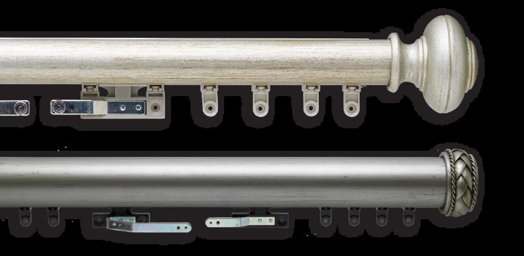 Premium Traverse Rods - Left